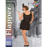 Black Flapper Girl - Adult Female Costume