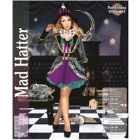 Mad Hatter Deluxe Female Adult Costume