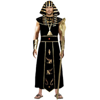 Pharaoh Black Gold Complete Costume Large & XLarge