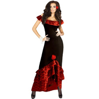 Hot Salsa Flamenco Dress