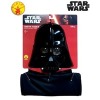 Darth Vader Mask & Cape Child Size