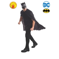 Batman Mask & Cape Adult Character Set