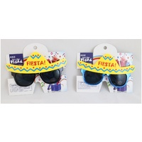Mexican Fiesta Sombrero Glasses
