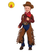 LITTLE WRANGLER COWBOY COSTUME, CHILD