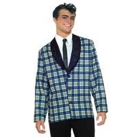 50's Men's Plaid Jacket