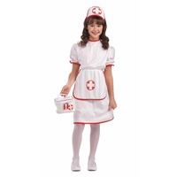 Nurse Uniform Child Size Red Cross Costume