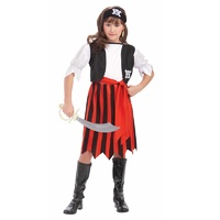 Pirate Lass Costume Child Size