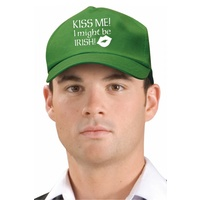 Kiss Me I Might Be Irish Cap