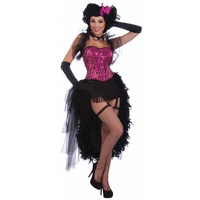 Lady Carmen Burlesque Fancy Dress Costume