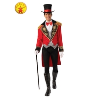 Ringmaster Adult Tailcoat Top Hat Complete Costume