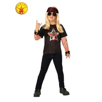 ROCK STAR BOY COSTUME, CHILD