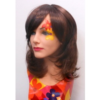 70's Shag Style Wig Brown