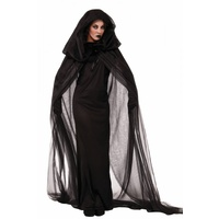 Ghostly Sorceress Womens Cape/Costume
