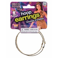 70's Hoop Earrings