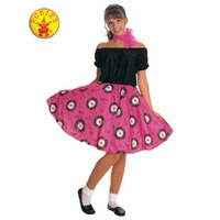 50'S POODLE DRESS COSTUME, ADULT FEMALE
