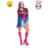 Spider Girl Flattering Dress & Mask