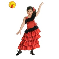 SPANISH PRINCESS FLAMENCO COSTUME, CHILD