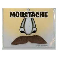 Character Moustache – Brown
