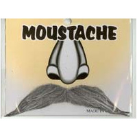 Character Moustache – Grey