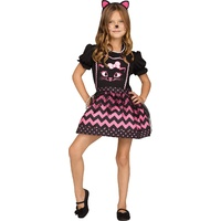 Classic Girls Instant Apron Costume - Cat