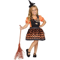 Classic Girls Instant Apron Costume - Witch