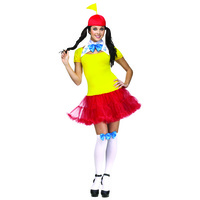 Tweedle Dee Dum - Adult Female Costume