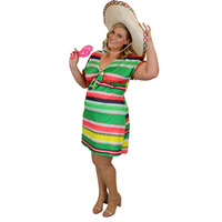 Mexican Dress - Adult Plus - XL