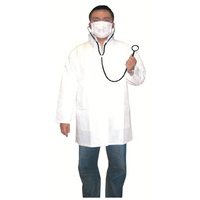 Mad Doctor Lab Coat & Accessories Costume