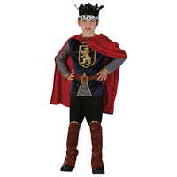 Boy King Medieval Costume