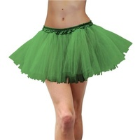 Deluxe Adult Tulle Tutu Green