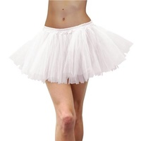 Deluxe Adult Tulle Tutu White