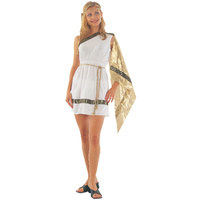 Ancient Woman Toga Adult Costume