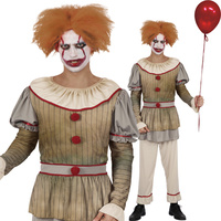 Vintage Clown Costume - Men's