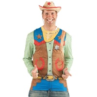 Toy Cowboy Long Sleeve Shirt Costume