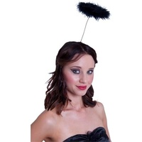 Feather Angel Halo Party Hat