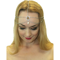 Gatsby Head Chain - Silver