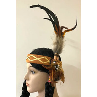 Indian Pheasant Feather Headband
