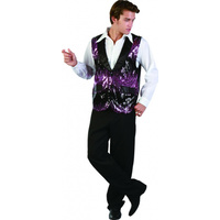Vest Adult Male - Charming Dancer - Small/Medium