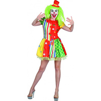 Clown Adult Female Costume