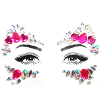 Face Jewels - Queen Of Hearts