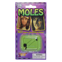 Moles - Stick on - Pack 3