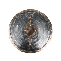 Viking Distressed Metal Look Shield 46cm