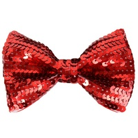 Sequin Bow Tie Various Colours