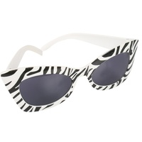 Marilyn Party Glasses - Zebra