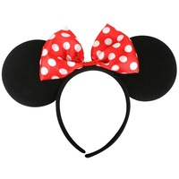 Mrs Mouse Ears with Bow Headband