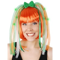 Headband St Pats LightUp Noodles Green/Orange