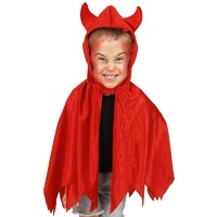 Devil Cape Red Child Size