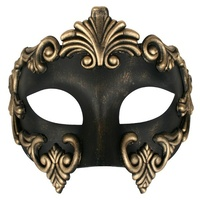 Lorenzo Eye Mask Black/Gold