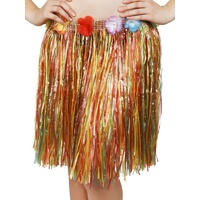 Hawaiian Skirt Mulitcoloured Short