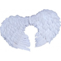 Angel Wings Feather Small White